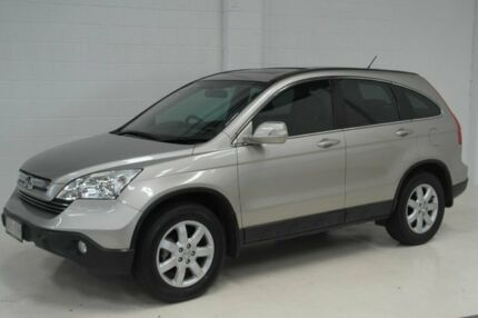 2007 Honda CR-V RE MY2007 Luxury 4WD Gold 5 Speed Automatic Wagon