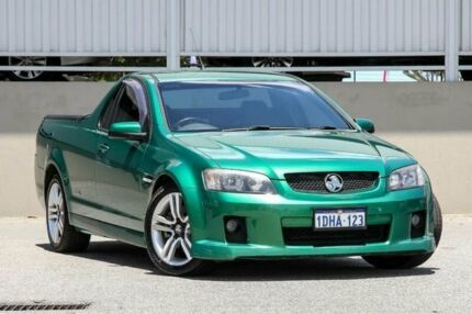 2010 Holden Commodore VE MY10 SS Green 6 Speed Automatic Utility Cannington Canning Area Preview
