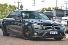 2010 Mercedes-Benz C63 W204 AMG Black 7 Speed Sports Automatic Sedan Osborne Park Stirling Area Preview
