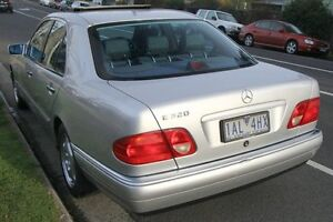 1998 Mercedes-Benz E320 W210 Avantgarde Silver 5 Speed Automatic Sedan Briar Hill Banyule Area Preview