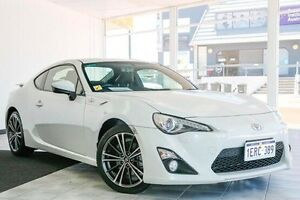 2014 Toyota 86 ZN6 GTS White 6 Speed Manual Coupe Victoria Park Victoria Park Area Preview