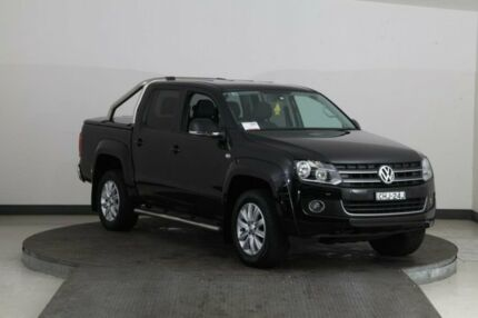 2012 Volkswagen Amarok 2H MY12.5 TDI400 Highline (4x4) Black 6 Speed Manual Dual Cab Utility Smithfield Parramatta Area Preview