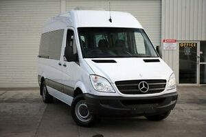 2010 Mercedes-Benz Sprinter NCV3 MY10 316CDI High Roof LWB White 5 Speed Automatic Van Seaford Frankston Area Preview