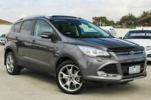 2014 Ford Kuga TF Titanium PwrShift AWD Grey 6 Speed Sports Automatic Dual Clutch Wagon Craigieburn Hume Area Preview