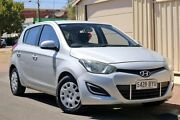 2013 Hyundai i20 PB MY13 Active Silver 6 Speed Manual Hatchback Glenelg Holdfast Bay Preview