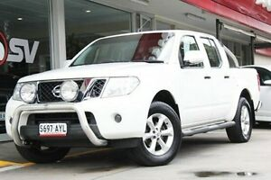 2012 Nissan Navara D40 S6 MY12 ST 25th Anniversary White 5 Speed Automatic Utility Somerton Park Holdfast Bay Preview