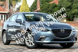 2014 Mazda 3 BM Maxx Blue 6 Speed Automatic Sedan Wyoming Gosford Area Preview
