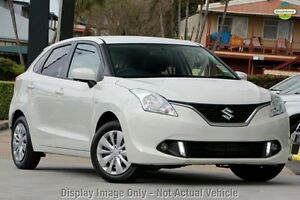 2016 Suzuki Baleno MY16 GL Arctic White 4 Speed Automatic Hatchback Mount Gravatt Brisbane South East Preview