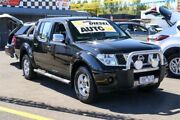 2009 Nissan Navara D40 ST-X Black 5 Speed Automatic Utility Ringwood East Maroondah Area Preview