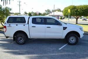 2013 Ford Ranger PX XL 2.2 (4x4) White 6 Speed Manual Crewcab Maddington Gosnells Area Preview