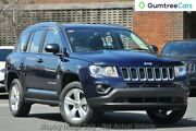 2013 Jeep Compass MK MY13 Sport CVT Auto Stick Blue 6 Speed Constant Variable Wagon Perth Perth City Area Preview
