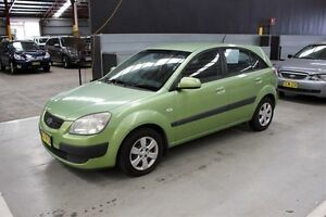 2007 Kia Rio JB MY07 LX Green 5 Speed Manual Hatchback Maryville Newcastle Area Preview