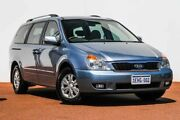 2013 Kia Grand Carnival VQ MY13 SI Blue 6 Speed Sports Automatic Wagon Rockingham Rockingham Area Preview