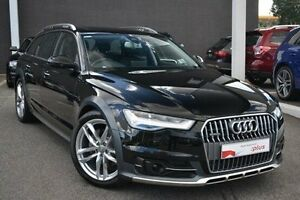 2016 Audi A6 4G MY16 allroad S tronic quattro Black 7 Speed Sports Automatic Dual Clutch Wagon Burwood Whitehorse Area Preview