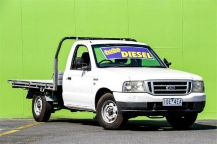 2006 Ford Courier PH (Upgrade) XL Super Cab White 5 Speed Manual Cab Chassis Ringwood East Maroondah Area Preview