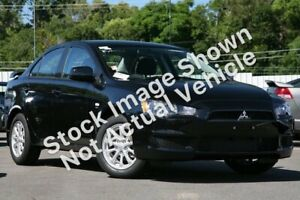 2011 Mitsubishi Lancer CJ MY11 SX Black 6 Speed Constant Variable Sedan Hoppers Crossing Wyndham Area Preview
