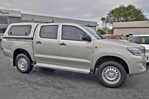 2012 Toyota Hilux Silver Automatic Utility Frankston Frankston Area Preview
