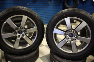 """20"""" Ford-F-150 Sport OEM Wheels , arctic claw studded Tires and"""