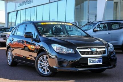 2014 Subaru Impreza G4 MY14 2.0i Lineartronic AWD Crystal Black 6 Speed Constant Variable Hatchback Wangara Wanneroo Area Preview