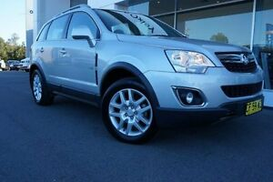 2012 Holden Captiva CG MY12 5 (FWD) Silver 6 Speed Manual Wagon Port Macquarie Port Macquarie City Preview