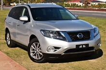 2015 Nissan Pathfinder R52 MY15 ST X-tronic 4WD Silver 1 Speed Constant Variable Wagon Wangara Wanneroo Area Preview