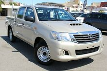 2015 Toyota Hilux KUN16R MY14 SR Double Cab Lustre 5 Speed Manual Utility Northbridge Perth City Preview