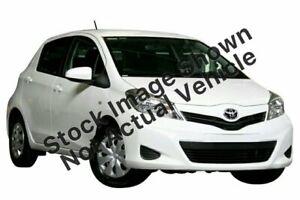 2014 Toyota Yaris NCP130R YR White 4 Speed Automatic Hatchback Slacks Creek Logan Area Preview