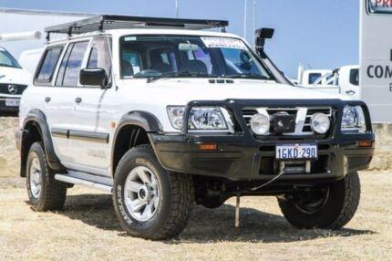 2003 Nissan Patrol GU III MY2003 DX White 4 Speed Automatic Wagon Bibra Lake Cockburn Area Preview
