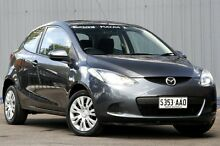 2008 Mazda 2 DE10Y1 Neo Charcoal Grey 4 Speed Automatic Hatchback Enfield Port Adelaide Area Preview