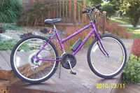 18 SPD. LADIES HUFFY ROAD BIKE  IN EXCELLENT CONDITION  MADE IN