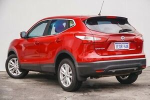 2014 Nissan Qashqai J11 ST Red 6 Speed Manual Wagon Bellevue Swan Area Preview