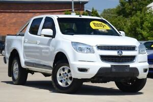 2014 Holden Colorado RG MY14 LT Crew Cab White 6 Speed Sports Automatic Utility Toowoomba Toowoomba City Preview