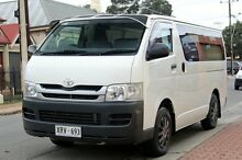 2008 Toyota Hiace TRH201R MY08 LWB White 4 Speed Automatic Van Glenelg Holdfast Bay Preview