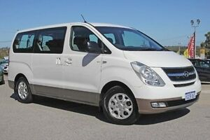 2013 Hyundai iMAX TQ-W MY13 White 5 Speed Automatic Wagon Pearsall Wanneroo Area Preview