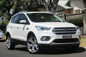 2018 Ford Escape ZG 2018.00MY Titanium PwrShift AWD White 6 Speed Sports Automatic Dual Clutch Wagon Nailsworth Prospect Area Preview