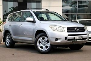 2006 Toyota RAV4 ACA33R CV Silver, Chrome 4 Speed Automatic Wagon