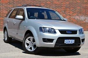 2010 Ford Territory SY Mkii TX Silver 4 Speed Sports Automatic Wagon Woodbridge Swan Area Preview