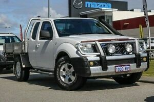 2011 Nissan Navara D40 ST-X King Cab White 5 Speed Automatic Utility East Rockingham Rockingham Area Preview