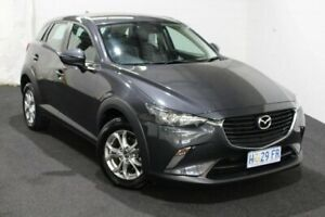 2017 Mazda CX-3 DK2W7A Maxx SKYACTIV-Drive Meteor Grey 6 Speed Sports Automatic Wagon Glenorchy Glenorchy Area Preview