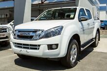 2015 Isuzu D-MAX MY15 LS-U Crew Cab White 5 Speed Manual Utility Cleveland Redland Area Preview