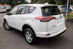 2015 Toyota RAV4 ZSA42R GX 2WD Glacier White 7 Speed Constant Variable Wagon