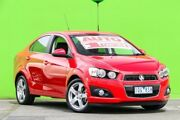 2014 Holden Barina TM MY14 CDX Red 6 Speed Automatic Sedan Ringwood East Maroondah Area Preview