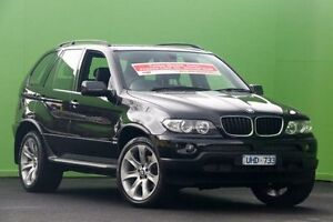 2006 BMW X5 E53 MY06 d Steptronic Black 6 Speed Sports Automatic Wagon Ringwood East Maroondah Area Preview