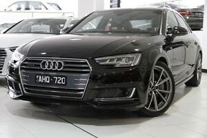 2016 Audi A4 B9 F4 MY16 Sport S tronic quattro Black 7 Speed Sports Automatic Dual Clutch Sedan North Melbourne Melbourne City Preview