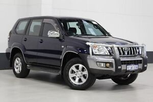 2006 Toyota Landcruiser Prado GRJ120R MY07 GXL (4x4) Blue 5 Speed Automatic Wagon Bentley Canning Area Preview