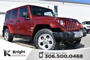 2013 Jeep Wrangler Unlimited Sahara | Navigation | Remote Start