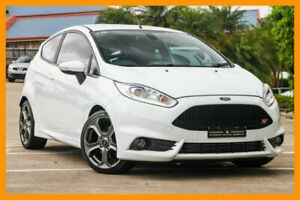 2016 Ford Fiesta WZ ST White 6 Speed Manual Hatchback Hillcrest Logan Area Preview