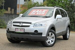 2009 Holden Captiva CG MY09 CX AWD Silver 5 Speed Sports Automatic Wagon Underwood Logan Area Preview
