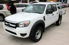2010 Ford Ranger PK XL (4x2) White 5 Speed Automatic Cab Chassis East Maitland Maitland Area Preview