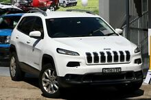 2014 Jeep Cherokee KL Limited (4x4) Bright White 9 Speed Automatic Wagon Mosman Mosman Area Preview